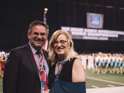 Photo of Rick and Lori Valenzuela.