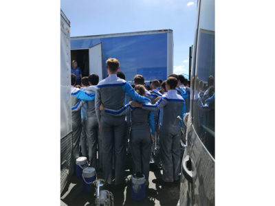 Photo of the Troopers Drum and Bugle Corps.